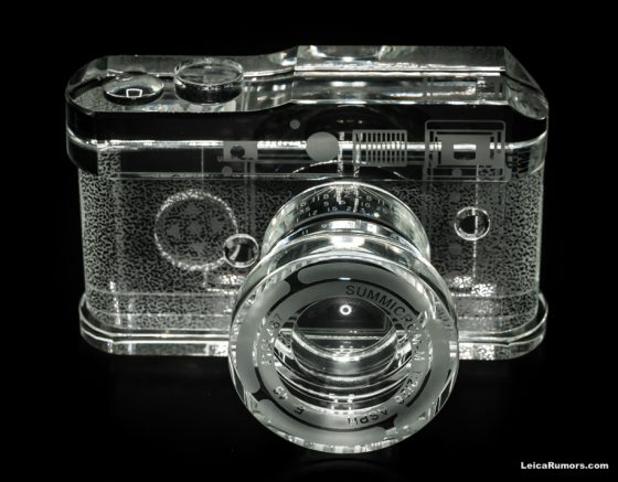 Leica M Replica Crystal Camera