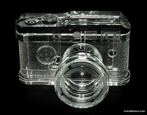 Leica M Replica Crystal Camera