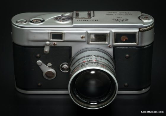 Leica M3 vintage replica camera tins