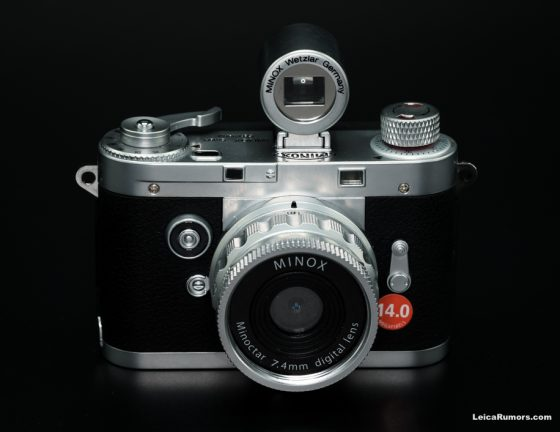 Minox Leica digital camera