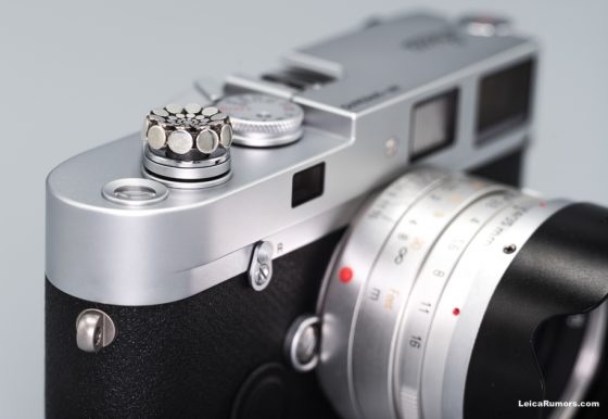 Sterling silver soft release buttons for Leica cameras
