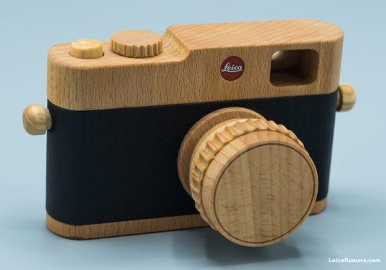 Wooden Leica camera