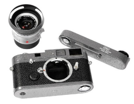 Leica MP Hammertone with 35mm Summicron-M and Leicavit LHSA 30th Anniversary Speical Edition