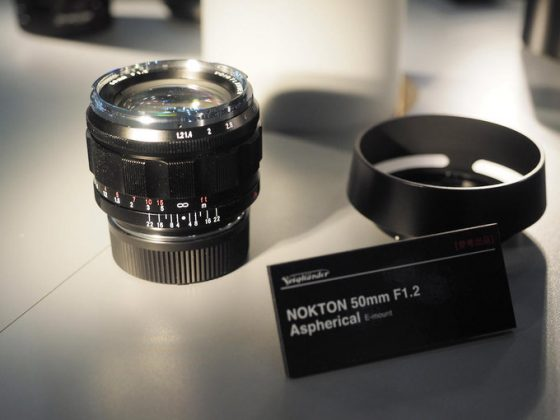 Voigtlander Nokton 50mm f/1.2 Aspherical VM lens for Leica M-mount