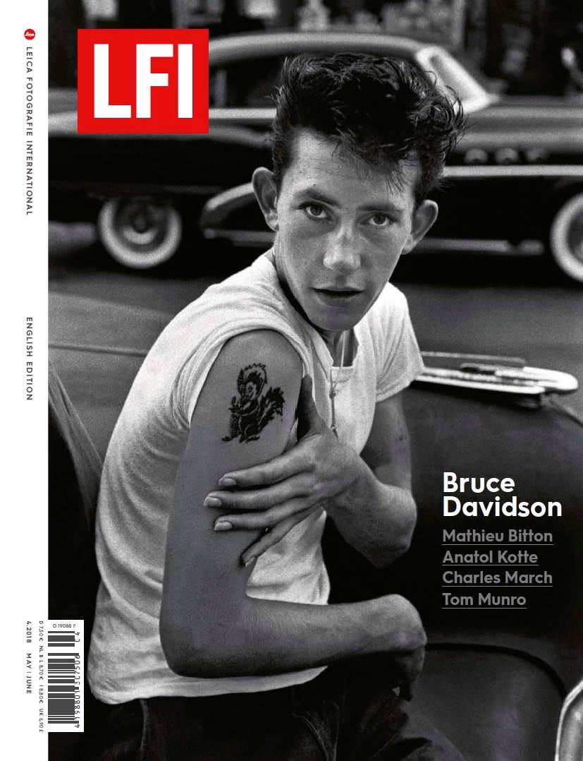 Leica Camera will honor Bruce Davidson with the Leica Hall of Fame Award 2018