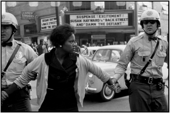 USA Alabama Birmingham 1963 Arrest of a demonstrator