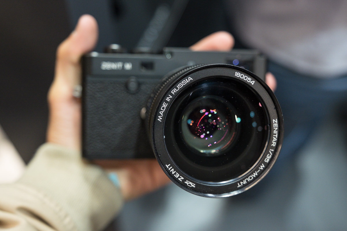 Zenit: Additional Photokina Coverage Of The New Zenit M Camera