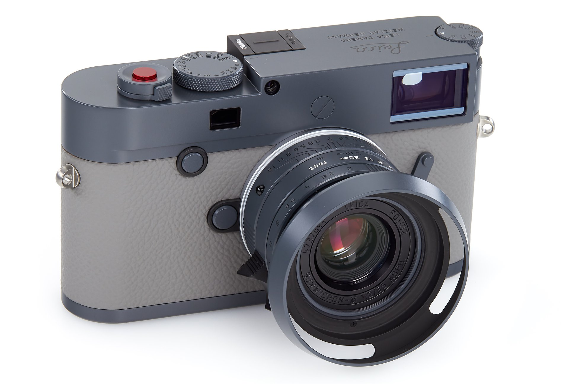 """First Leica M10-P """"Bold Gray"""" limited edition camera announced"""