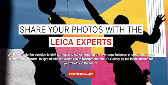 Leica Fotopark is closing