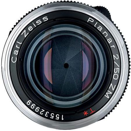 Deal of the day: the silver Zeiss Planar T* 50mm f/2 ZM lens is now $74 off