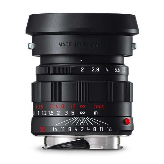 Leica APO-Summicron-M 50mm f/2 ASPH black chrome edition lens back in stock in the US