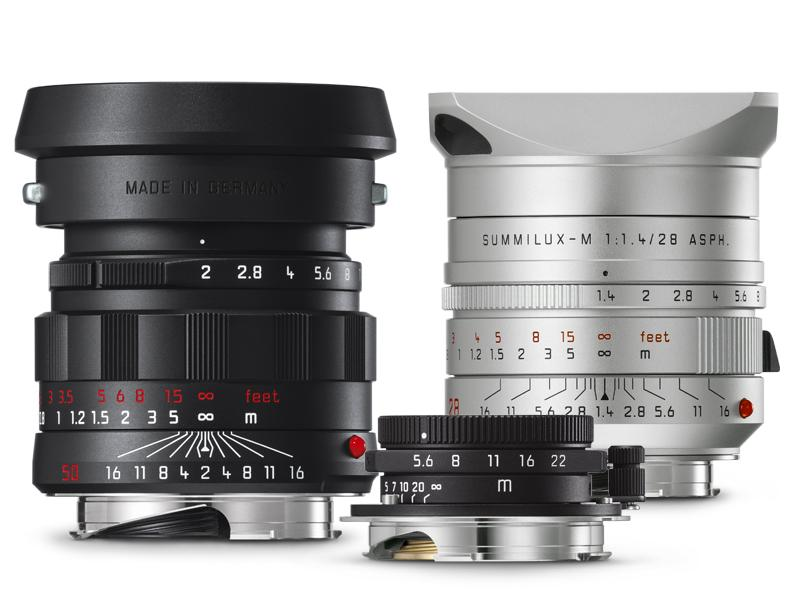 Three new Leica M limited production lens variants announced