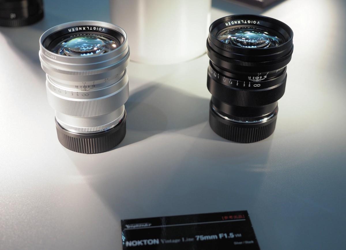 Pictures of the new Voigtländer Nokton Vintage Line 75mm f/1.5 Aspherical VM lens for Leica M-mount