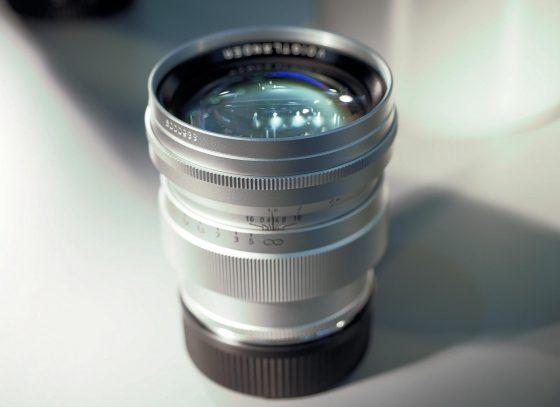 Voigtländer Nokton Vintage Line 75mm f/1.5 Aspherical VM lens for Leica M-mount