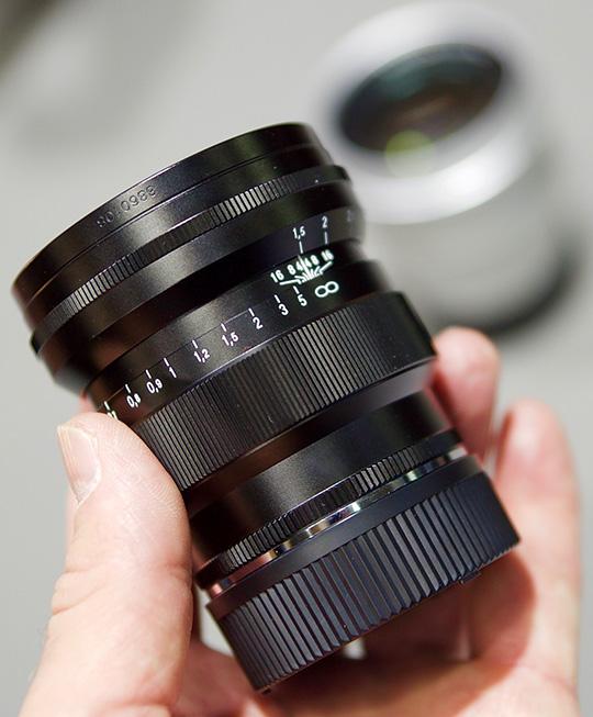 Voigtländer Nokton Vintage Line 75mm f/1.5 Aspherical VM lens for Leica M-mount additional coverage