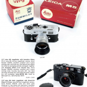 More than 90 Leica cameras and lenses will be part of the