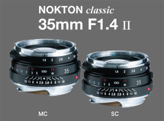 Voigtlander Nokton Classic 35mm f/1.4 II SC VM lens for Leica M-mount officially announced - Leica Rumors