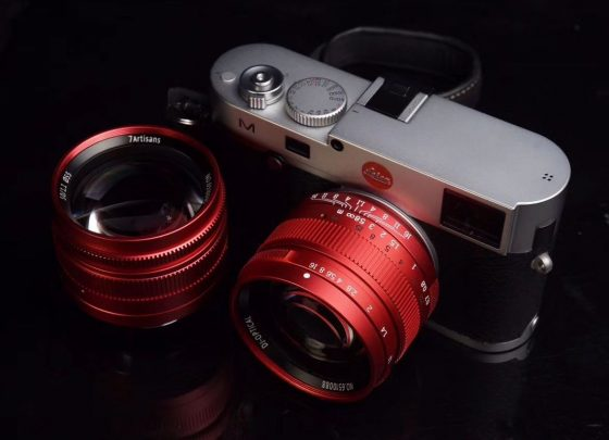 Coming soon: 7Artisans 50mm f/1.1 red limited edition lens for Leica M-mount