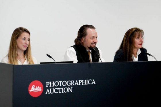 Leica MP-2 black paint sold for one million euro at the last Leitz Photographica Auction