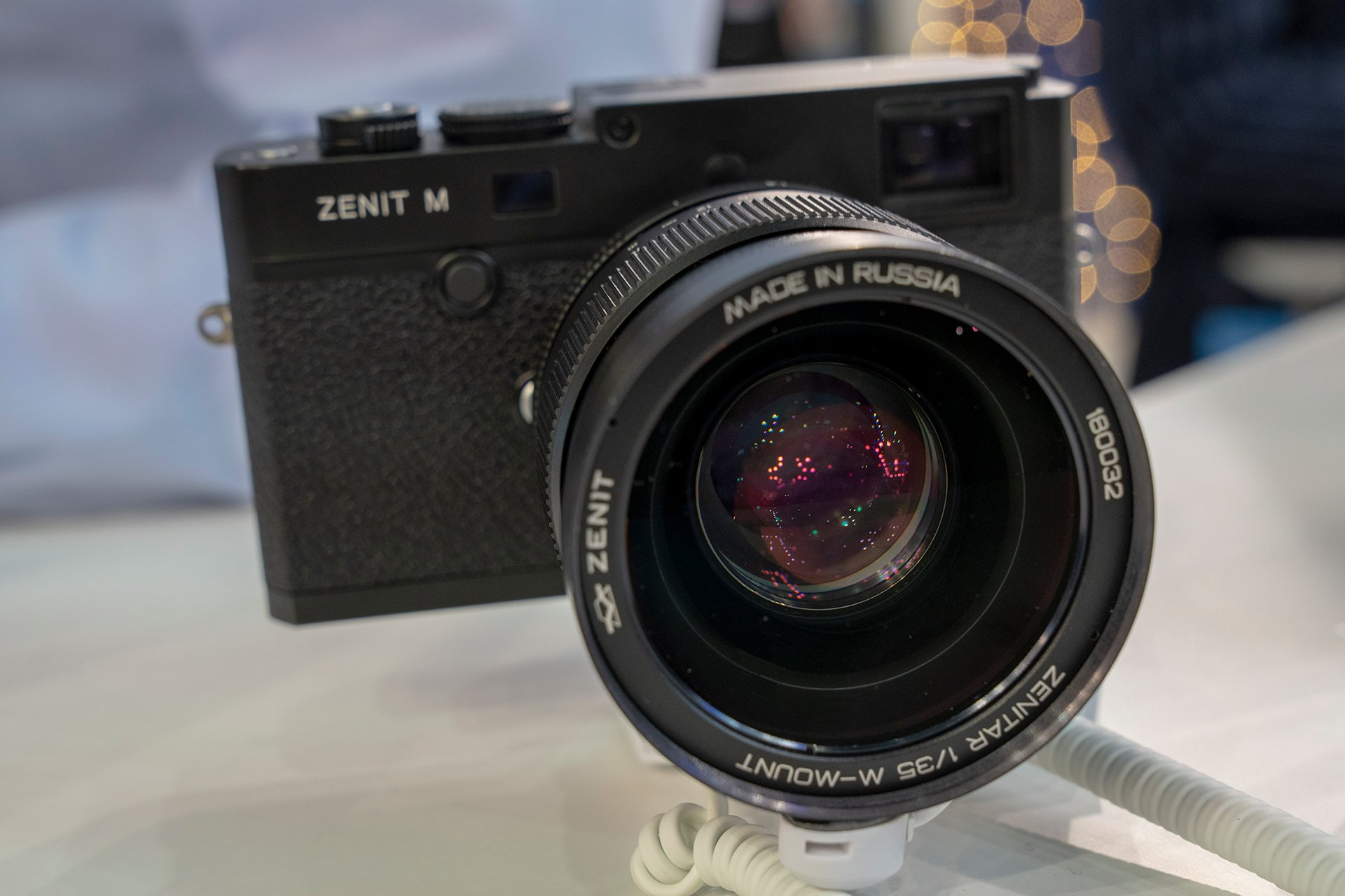 The new Leica M 240 based Zenit M digital rangefinder camera is now shipping