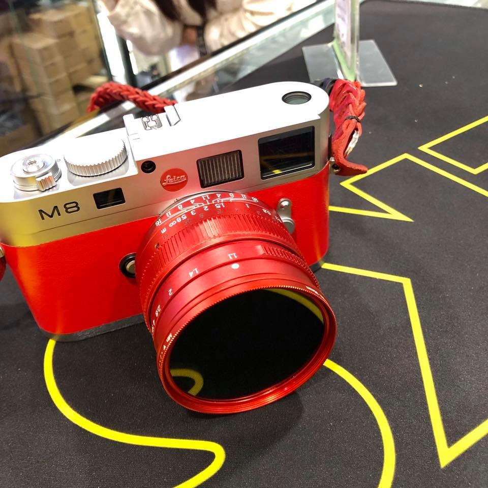 """The new 7Artisans 50mm f/1.1 red limited edition """"Red Dragon"""" lens for Leica M-mount - Leica Rumors"""