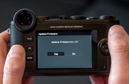 Leica CL firmware update version 1.3 released - Leica Rumors