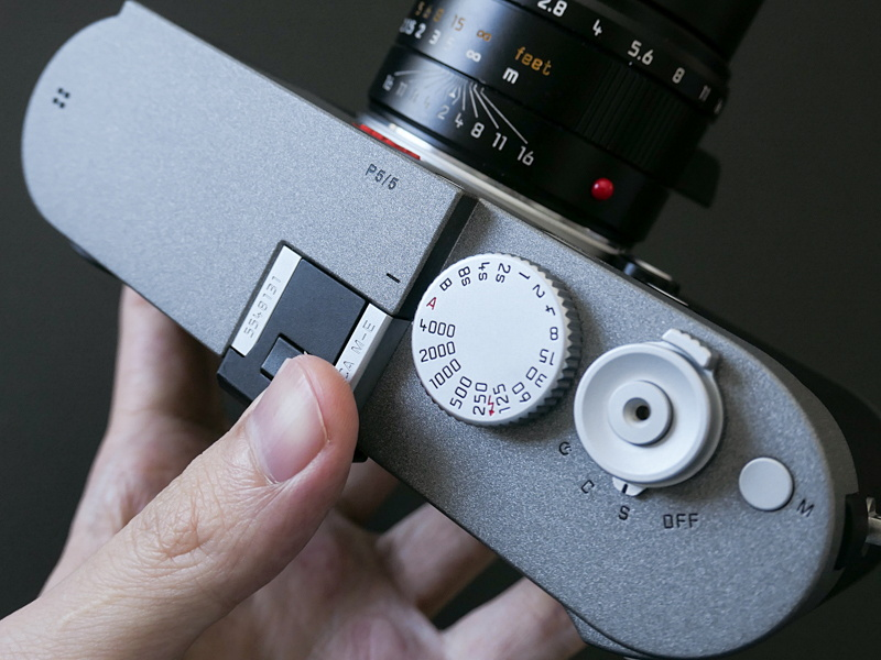 Hands-on pictures of the new Leica M-E Typ 240 camera