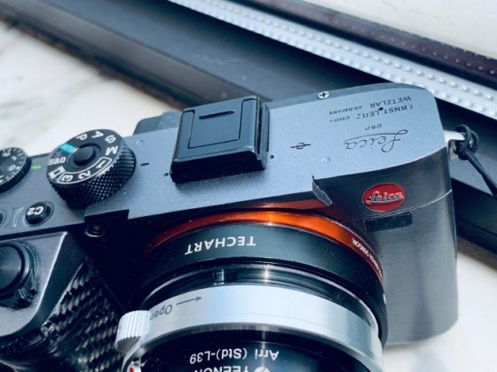 Somebody made a Leica mirrorless interchangeable lens camera out of