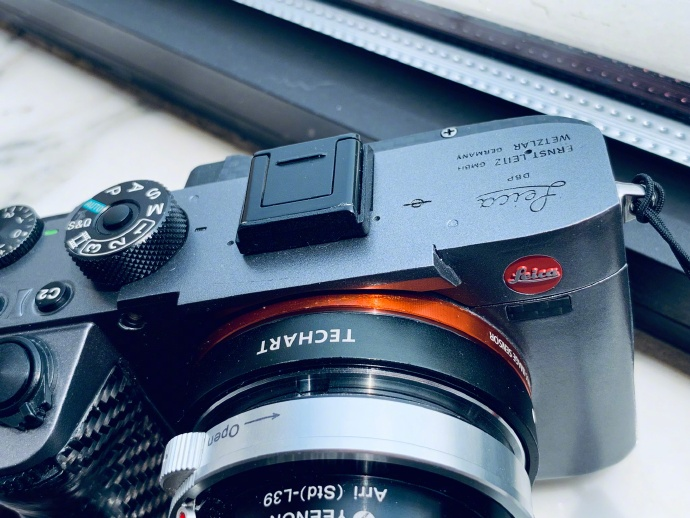 Somebody made a Leica mirrorless interchangeable lens camera out of a Sony a7 - Leica Rumors
