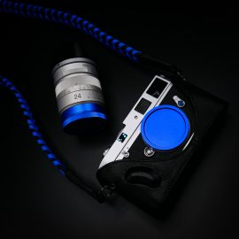 Holiday special: buy any colored anodized metal lens or camera M-mount cap, get a free M6 pin