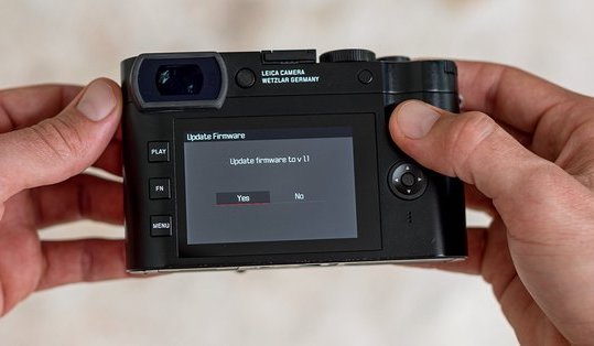 Leica SL firmware update 3.6 released