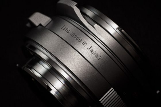 New teaser: Map Camera 25th anniversary limited edition rangefinder lens for Leica M-mount