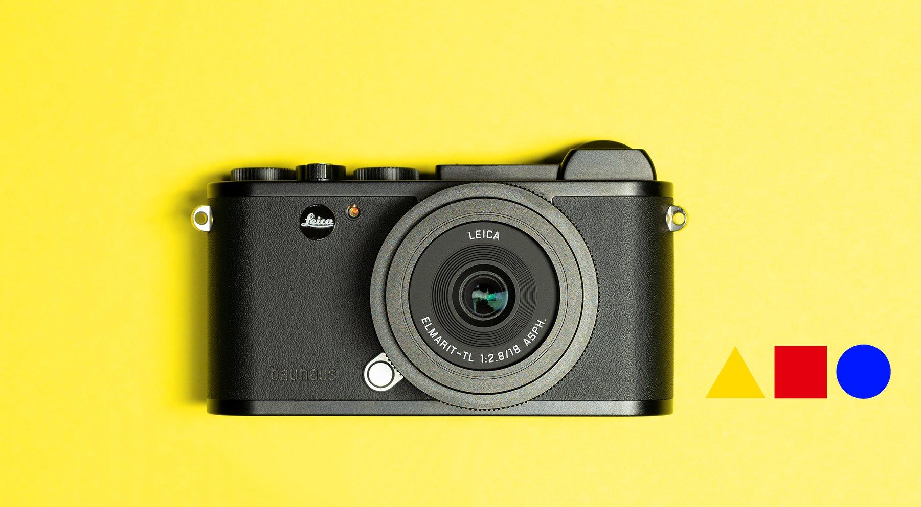 "Leica CL ""100 Jahre Bauhaus - Bauhaus Museum Dessau"" edition camera is now officially announced - Leica Rumors"