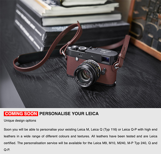 Leica UK: soon you will be able to personalize your Leica camera - Leica Rumors