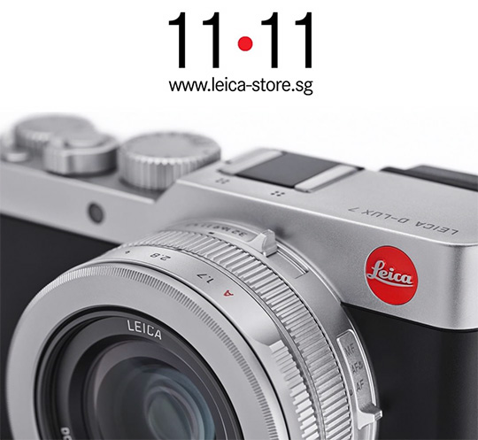 Leica D-Lux 7 teaser from Leica Store Singapore