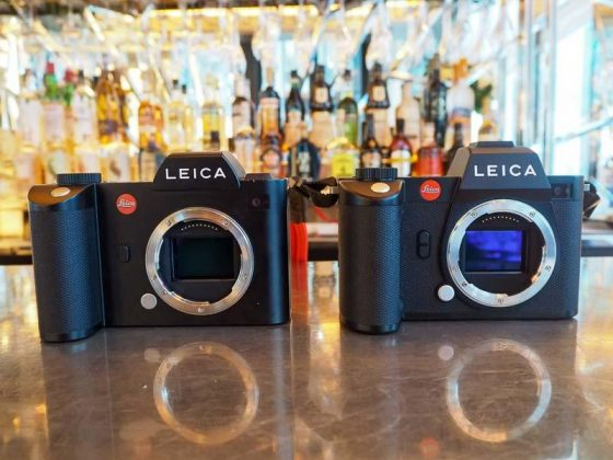 Leica SL and Leica SL2 side by side