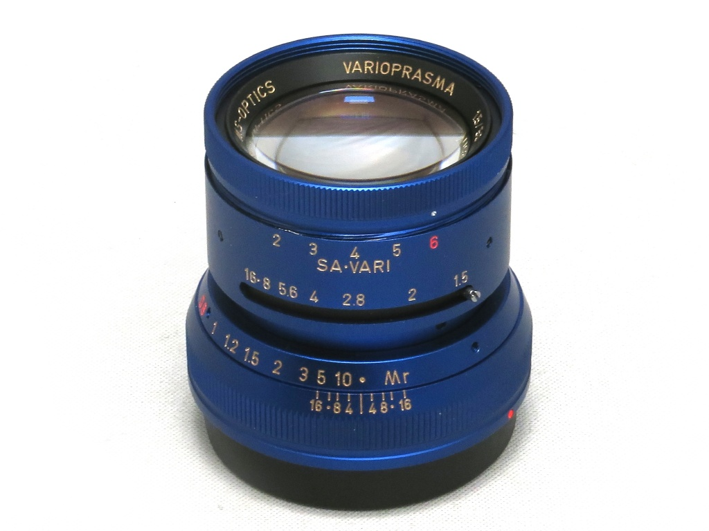 The MS Optics Vario Prasma 50mm f/1.5 lens for Leica M-mount is now available also in blue and red colors - Leica Rumors