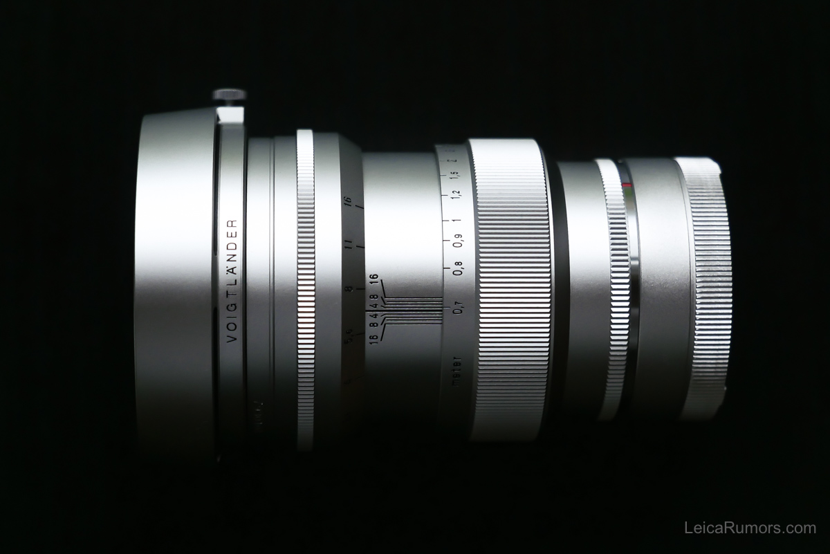 The new Voigtlander Nokton 75mm f/1.5 Aspherical lens for Leica M-mount - Leica Rumors