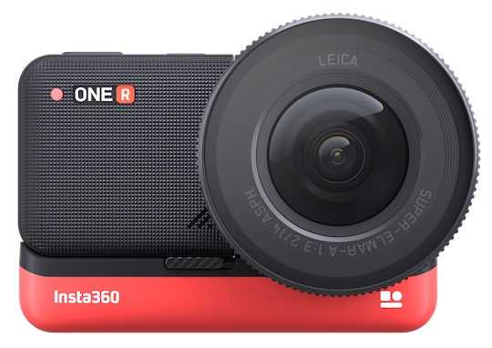 The Insta360 ONE R action camera co-engineered with Leica is now on sale