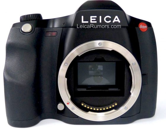 New Leica S3 medium format camera pictures and technical specifications