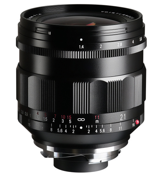 New Voigtlander Nokton 21mm f/1.4 Aspherical VM lens for Leica M-mount announced
