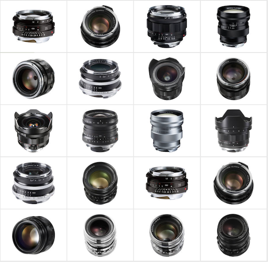 20 Voigtlander lenses for M-mount are now up to $250 off