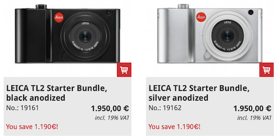 Meister Camera in Germany sells the Leica TL2 camera with a free Elmarit 18mm f/2.8 lens - Leica Rumors