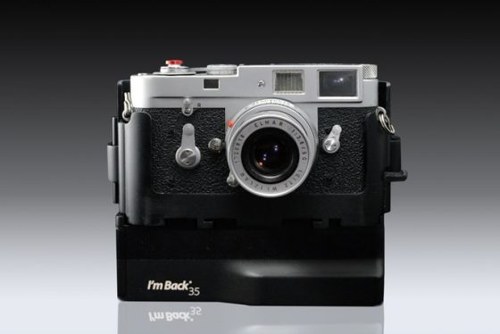 Digital camera back Kickstarter project raised over $400,000 (compatible with Leica R cameras)
