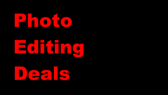 The latest photo editing deals and coupons