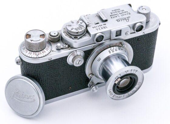 """Leica """"72"""" 18 x 24 Half-Frame camera"""