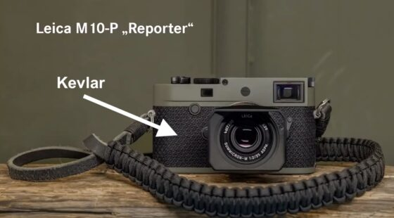 """The Leica M10-P """"Reporter"""" limited-edition camera with Kevlar armor is rumored to be released tomorrow"""