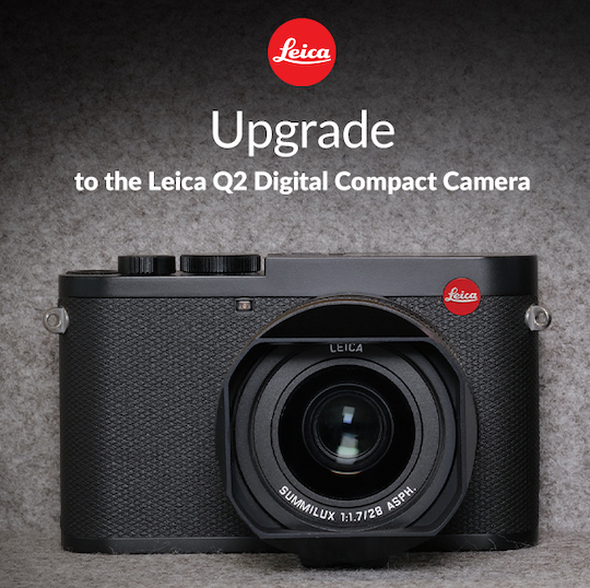 Trade in to the Leica Q2 Monochrom camera (now in stock in the US)