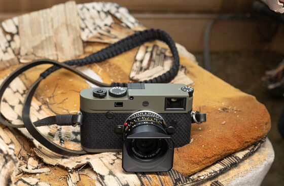 Released: Leica M10-P Reporter limited edition camera with scratch-resistant finish and Kevlar trim