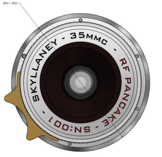 Coming soon: Skyllaney & 35MMC collaboration pancake lens for Leica M-mount